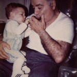 Me and grandpa back in the day.