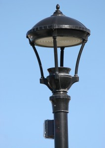 Just a look at an outdoor lamp style.
