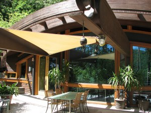 We Like The Australian Patio Canopy Type Of Shade.