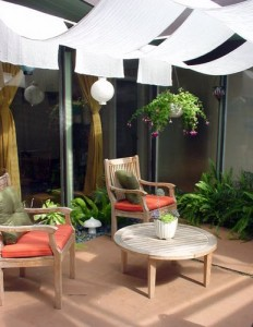Even small patios can benefit from big patio ideas.