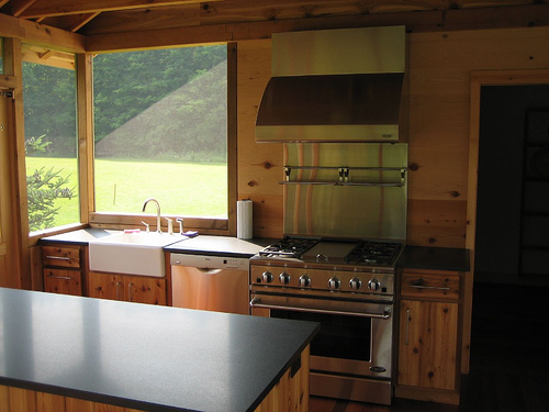 Enclosed Outdoor Kitchens