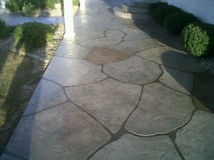 patio concrete designs_fieldstone