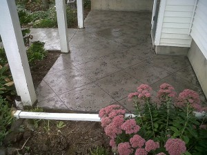 patio concrete designs_trowel